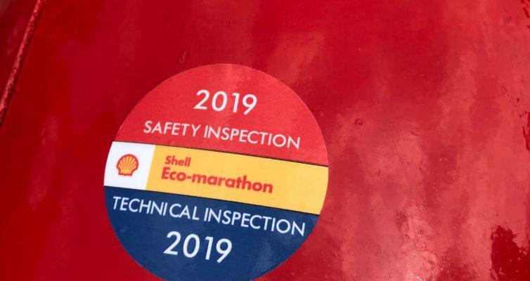 Goedgekeurd door de technische inspectie!